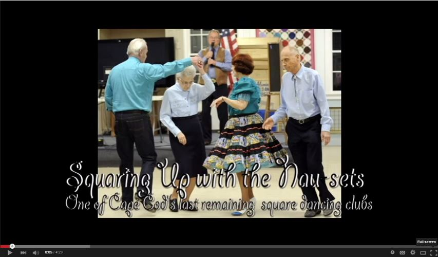 The Nau-sets square dancing club has been on the Cape for over 35 years and still has a devoted following. The group usually meets every Tuesday evening at the Dennis Senior Center for two solid hours of calls, tips and round dancing.Click here to read the story and see more photos