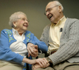 Betty and John Archer have been married for 70 years and live at the Blenheim-Newport Senior Living Community.