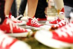 As a tribute to Matthew, many of his friends and family members wore red Chuck Taylor All-Star sneakers, an essential component to his unique fashion statements. The Starrings discouraged mourners from wearing black and instructed to sport bright colors and loud outfits.