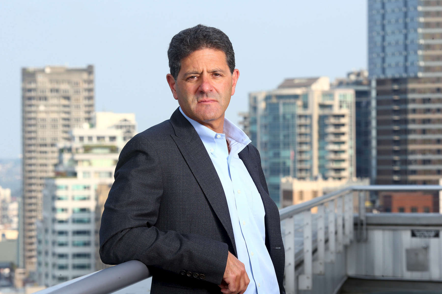 Nick Hanauer, founder of Civic Ventures, photographed in Seattle, Wash. on August 8, 2017 for the Guardian News and Media. (© copyright Karen Ducey)