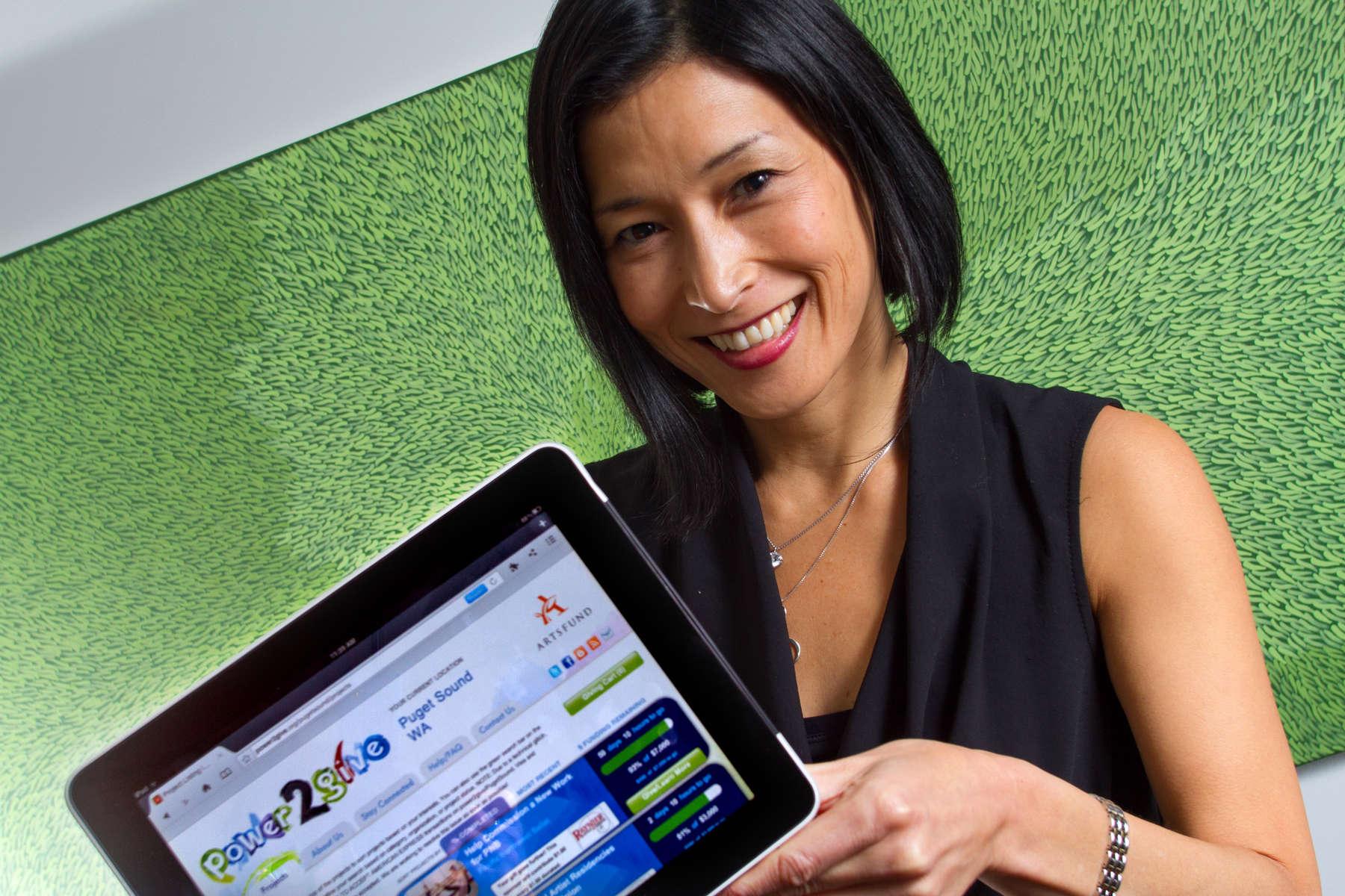 Mari Horita, ArtsFund President & CEO. (© copyright Karen Ducey)