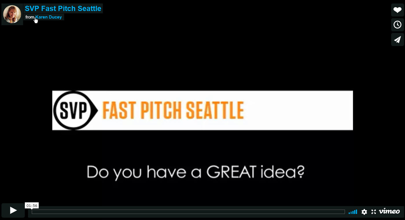 Promo for the Social Innovation Fast Pitch Seattle 2013. Presented by the Social Venture Partners. Video photographed and produced by Karen Ducey.