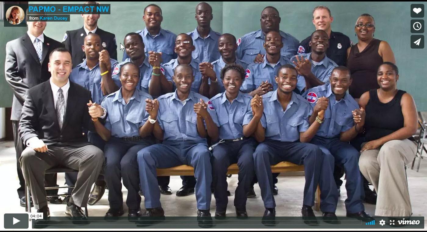 Please support EMPACT Northwest and Port Au Prince Medic One! Many thanks to the volunteers and students whose pictures, songs, and faces grace the frames in this video.© Karen Ducey 2011 Haiti