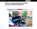 Tacoma Trying Individualized Way to End Youth Homelessness, September 30, 2019. Photos for Youth Today and Crosscut.