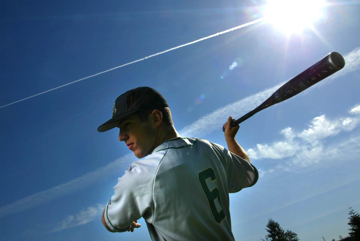 K.C. Herren plays baseball for Auburn High School. (© copyright Karen Ducey)