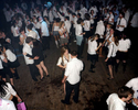 The dance floor at schooldisco.com, a school disco-themed adult night in north, London. April 2007