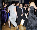 Mansfield Law Society employees dance at a Christmas party at the New Connaught Rooms, London. November 2002