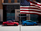 An American flag flies by the road in downtown Fort Worth.Fort Worth is the 17th-largest city in the United States and the fifth-largest city in the state of Texas. The city is located in North Central Texas and covers nearly 350 square miles with a population of around 792,700. The city is the second-largest in the Dallas–Fort Worth–Arlington metropolitan area.Dallas is a major city in Texas and is the largest urban center of the fourth most populous metropolitan area in the United States. The city ranks ninth in the U.S. and third in Texas after Houston and San Antonio. The city's prominence arose from its historical importance as a center for the oil and cotton industries, and its position along numerous railroad lines.For two weeks in the summer of 2015, photographer Peter Dench visited Dallas to document the metroplex in his epic reportage, DENCH DOES DALLAS.Photographed using an Olympus E-M5 Mark II©Peter Dench/Getty Images Reportage