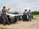 A demonstration of a Felony Traffic Stop by  Dallas Police Explorers [DPE]. The DPE program is designed to acquaint young people with the nature and complexity of law enforcement.Dallas is a major city in Texas and is the largest urban center of the fourth most populous metropolitan area in the United States. The city ranks ninth in the U.S. and third in Texas after Houston and San Antonio. The city's prominence arose from its historical importance as a center for the oil and cotton industries, and its position along numerous railroad lines.For two weeks in the summer of 2015, photographer Peter Dench visited Dallas to document the metroplex in his epic reportage, DENCH DOES DALLAS.Photographed using an Olympus E-M5 Mark II©Peter Dench/Getty Images Reportage