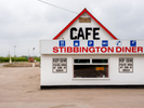 Stibbington Diner and Truck Stop. Cambridgeshire.