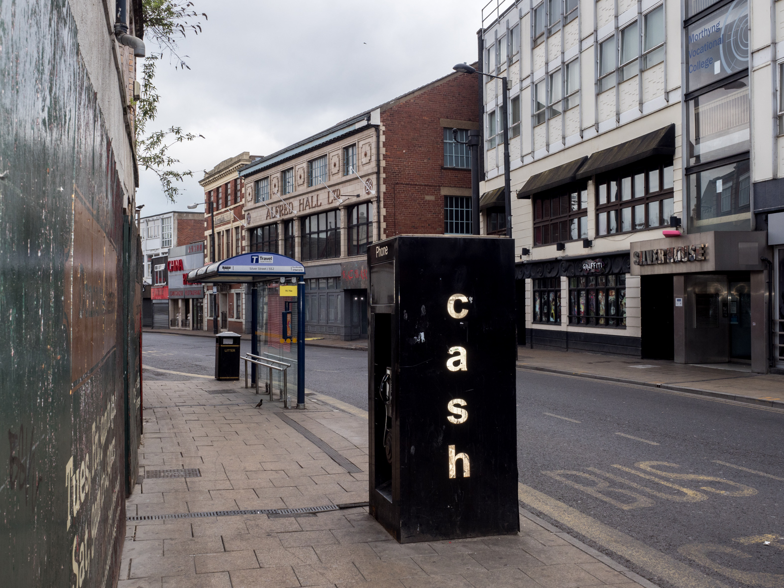 cash. Doncaster, South Yorkshire.