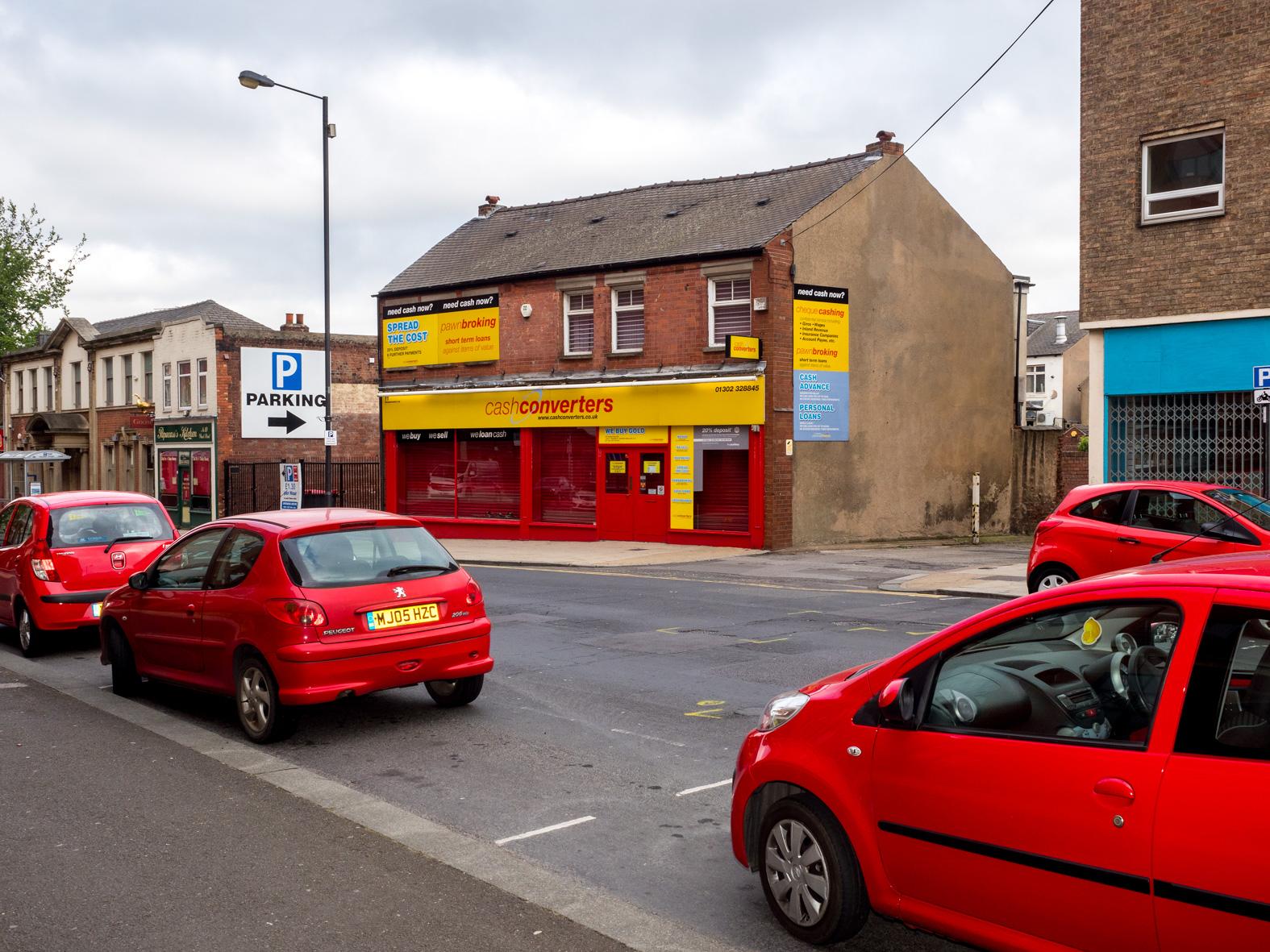 Cash Converters. Doncaster, South Yorkshire.