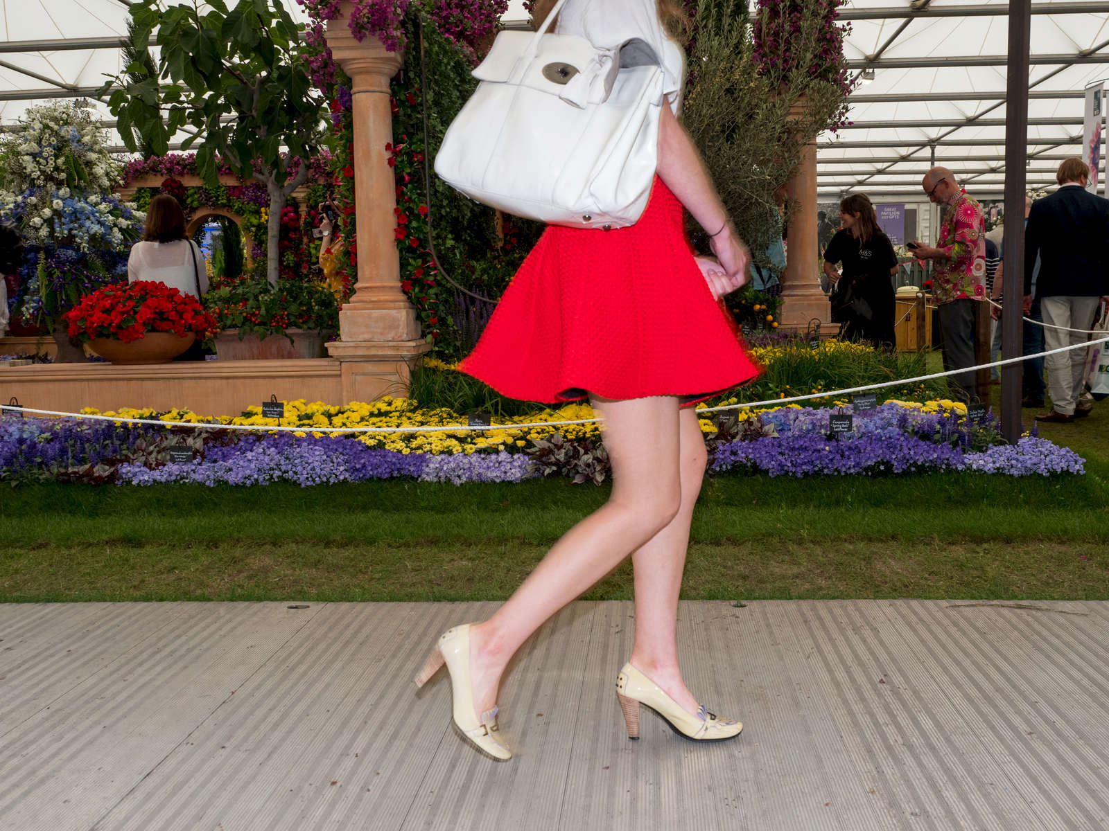 The RHS Chelsea Flower Show, is a garden show held for five days in May by the Royal Horticultural Society in the grounds of the Royal Hospital Chelsea in London.