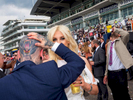 Jethro and Kitty from Stratford on Ladies' Day at Epsom.Ladies' Day is traditionally held on the first Friday of June, a multitude of ladies and gents head to Epsom Downs Racecourse to experience a day full of high octane racing, music, glamour and fashion.