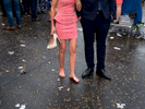 Wearing high heels takes its toll on one visitor on race day at Epsom.Ladies' Day is traditionally held on the first Friday of June, a multitude of ladies and gents head to Epsom Downs Racecourse to experience a day full of high octane racing, music, glamour and fashion.