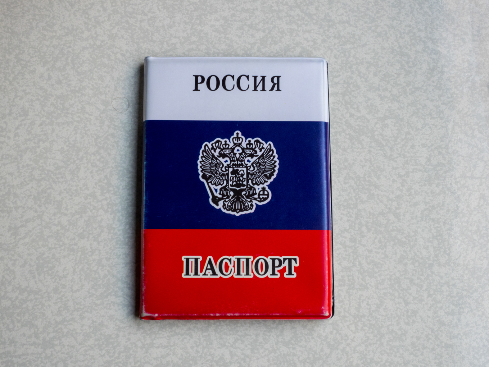 A Russian passport cover of a passenger on the Trans-Siberian Railway from Moscow-Vladivostok. Spanning a length of 9,289km, it's the longest uninterrupted single country train journey in the world. It has connected Moscow with Vladivostok since 1916, and is still being expanded. It was built between 1891 and 1916 under the supervision of Russian government ministers personally appointed by Tsar Alexander III and his son, the Tsarevich Nicholas (later Tsar Nicholas II).