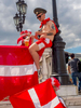 Danish fans drink beer in central Moscow ahead of their match with France. The 21st FIFA World Cup football tournament took place in Russia in 2018. It was the first World Cup to be held in Eastern Europe and the eleventh time that it has been held in Europe. For the first time the tournament took place on two continents – Europe and Asia. All but two of the stadium venues were in European Russia.