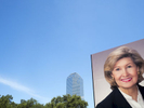 A poster of Kay Bailey Hutchison outside City Hall, Dallas.Kay Bailey Hutchison (born Kathryn Ann Bailey; July 22, 1943) is a former United States Senator from Texas. She is a member of the Republican Party. In 2001, she was named one of the thirty most powerful women in America by Ladies Home Journal. The first woman to represent Texas in the U.S. Senate, Hutchison also became the first Texas U.S. senator to receive more than four million votes in a single election.Dallas is a major city in Texas and is the largest urban center of the fourth most populous metropolitan area in the United States. The city ranks ninth in the U.S. and third in Texas after Houston and San Antonio. The city's prominence arose from its historical importance as a center for the oil and cotton industries, and its position along numerous railroad lines.For two weeks in the summer of 2015, photographer Peter Dench visited Dallas to document the metroplex in his epic reportage, DENCH DOES DALLAS.Photographed using an Olympus E-M5 Mark II©Peter Dench/Getty Images Reportage