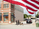Police officers and dogs from the nearby Dallas Fort Worth airport, search the town of Southlake for explosives ahead of the annual Stars & Stripes celebration. Southlake is an affluent city located north-west of Dallas in the U.S state of Texas with a population of arond 26,5700. Southlake was named in 2014 as one of TIME magazines top 10 richest towns in America a and is known for public schools, Southlake Town Square, its wealth, Gateway Church and Carroll High School's 8-time state champion football team.Dallas is a major city in Texas and is the largest urban center of the fourth most populous metropolitan area in the United States. The city ranks ninth in the U.S. and third in Texas after Houston and San Antonio. The city's prominence arose from its historical importance as a center for the oil and cotton industries, and its position along numerous railroad lines.For two weeks in the summer of 2015, photographer Peter Dench visited Dallas to document the metroplex in his epic reportage, DENCH DOES DALLAS.Photographed using an Olympus E-M5 Mark II©Peter Dench/Getty Images Reportage