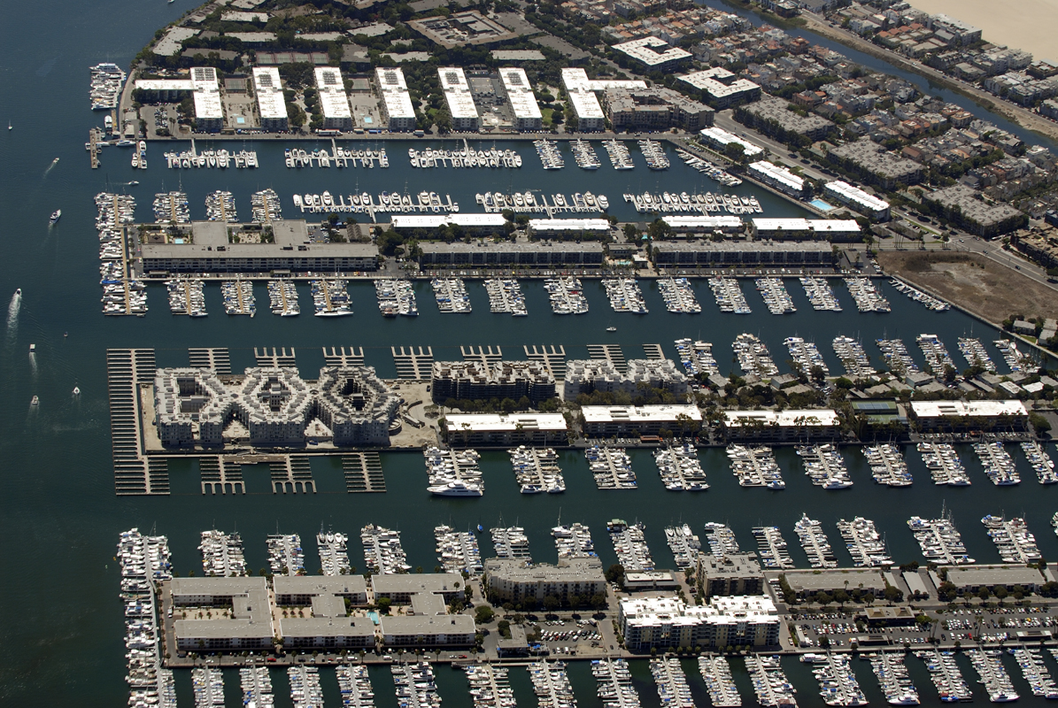 Marina Del Rey Yacht Club, California