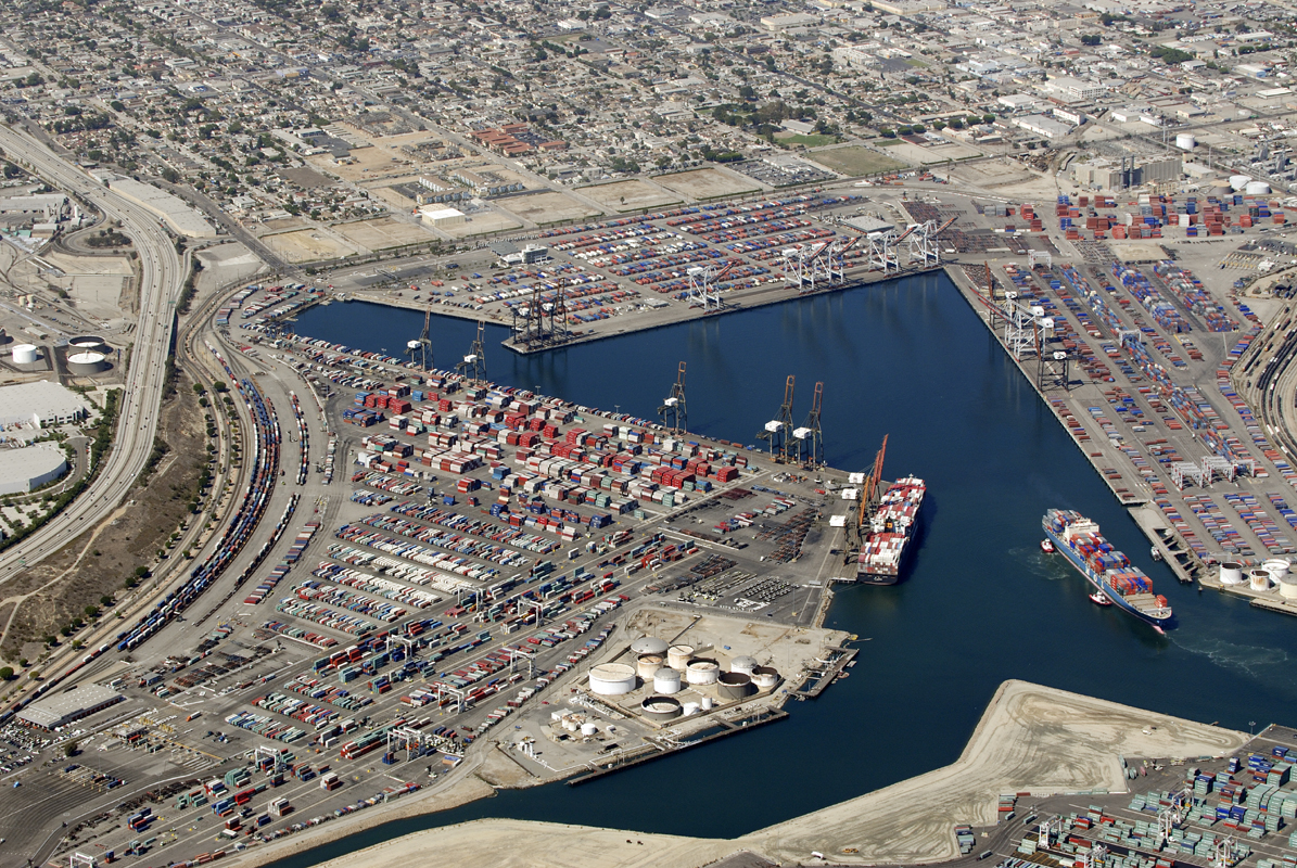 Terminal Island (Port of Long Beach), California