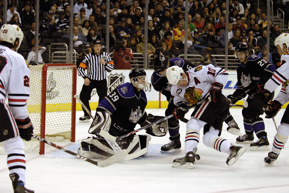 26 February 2008 The Staples CenterChicago Blackhawks Vs. Los Angeles Kings