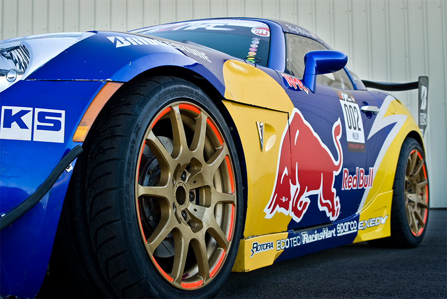 Rhys Millen - Red Bull Drift Car Driver