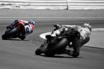 Dani Pedrosa and Casey StonerMotoGP Red Bull U.S. Grand PrixMazda Laguna-Seca Raceway 2009