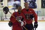 Cuba Gooding Jr. and Ken BelangerJerry Bruckheimer Bad Boys Hockey04 Apr 2008