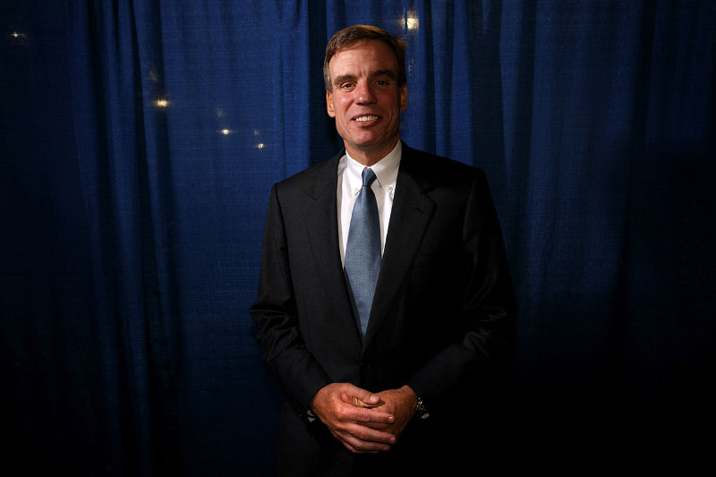 Democratic Senate candidate and former Governor of Virginia Mark Warner
