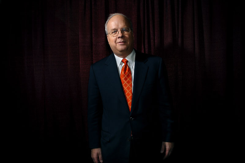 Former Pres. George Bush top advisor and Republican political strategist Karl Rove