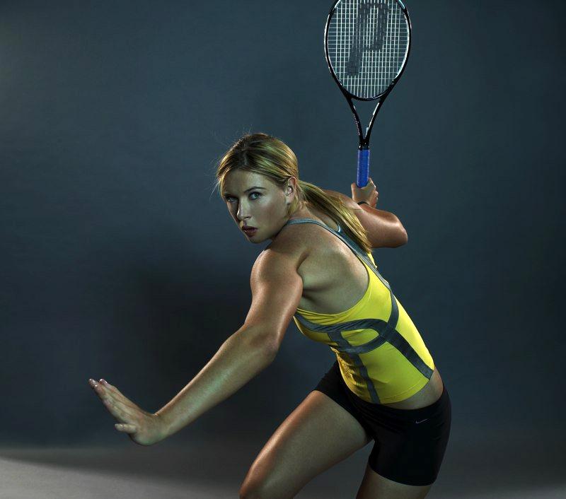 Maria Sharapova:Motorola