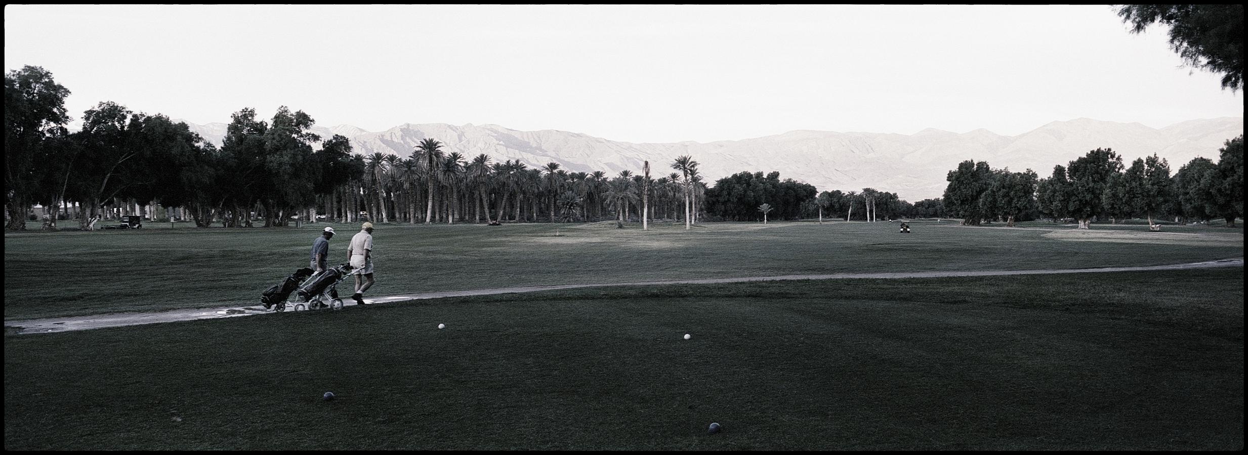 Furnace Creek Ranch Golf Course, Death Valley, Mojaves Desert, CA, USA.