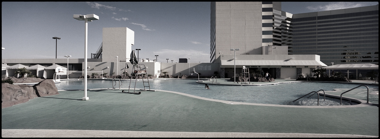 The Swiming Pool, Stratosphere Hôtel, Las Vegas, NV, USA.All pictures are © Cyril Fakiri - No use without permission.