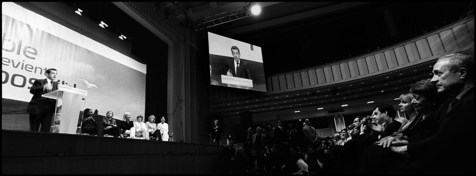 Discours de Nicolas Sarkozy à la Mutualité de Paris le 6 avril 2007.