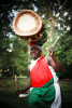 Apolinary  Nshimirimana performs with the Burundi Drummers of Atlanta, a group composed of refugees who fled the country  in 1994 following the civil war that claimed some 300,000 lives.