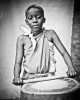 Bryan Nshimirimana, 12, is the youngest member of the Burundi Drummers of Atlanta.