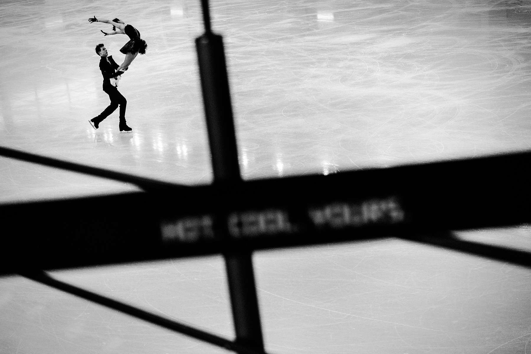 Pair Figure Skating Training.