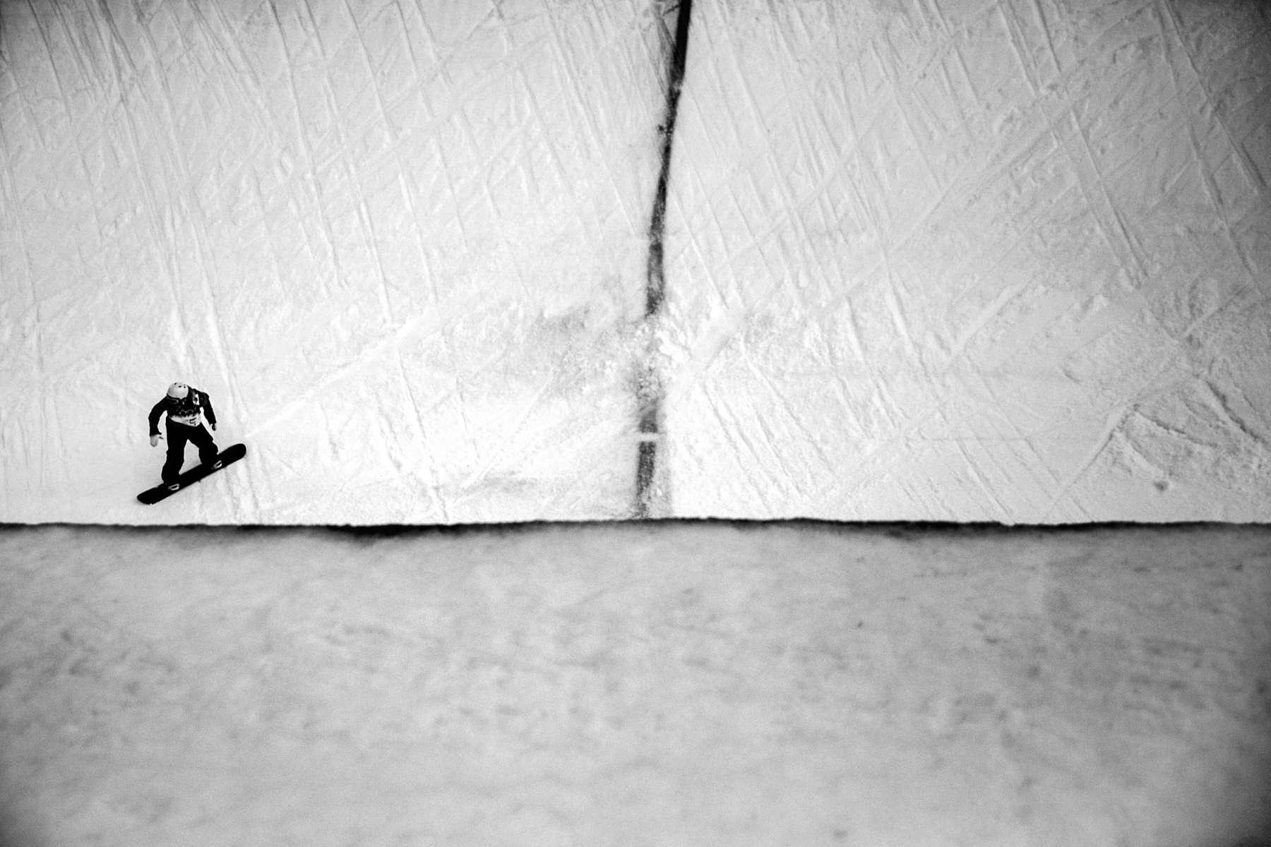 Men's Snowboard Halfpipe.