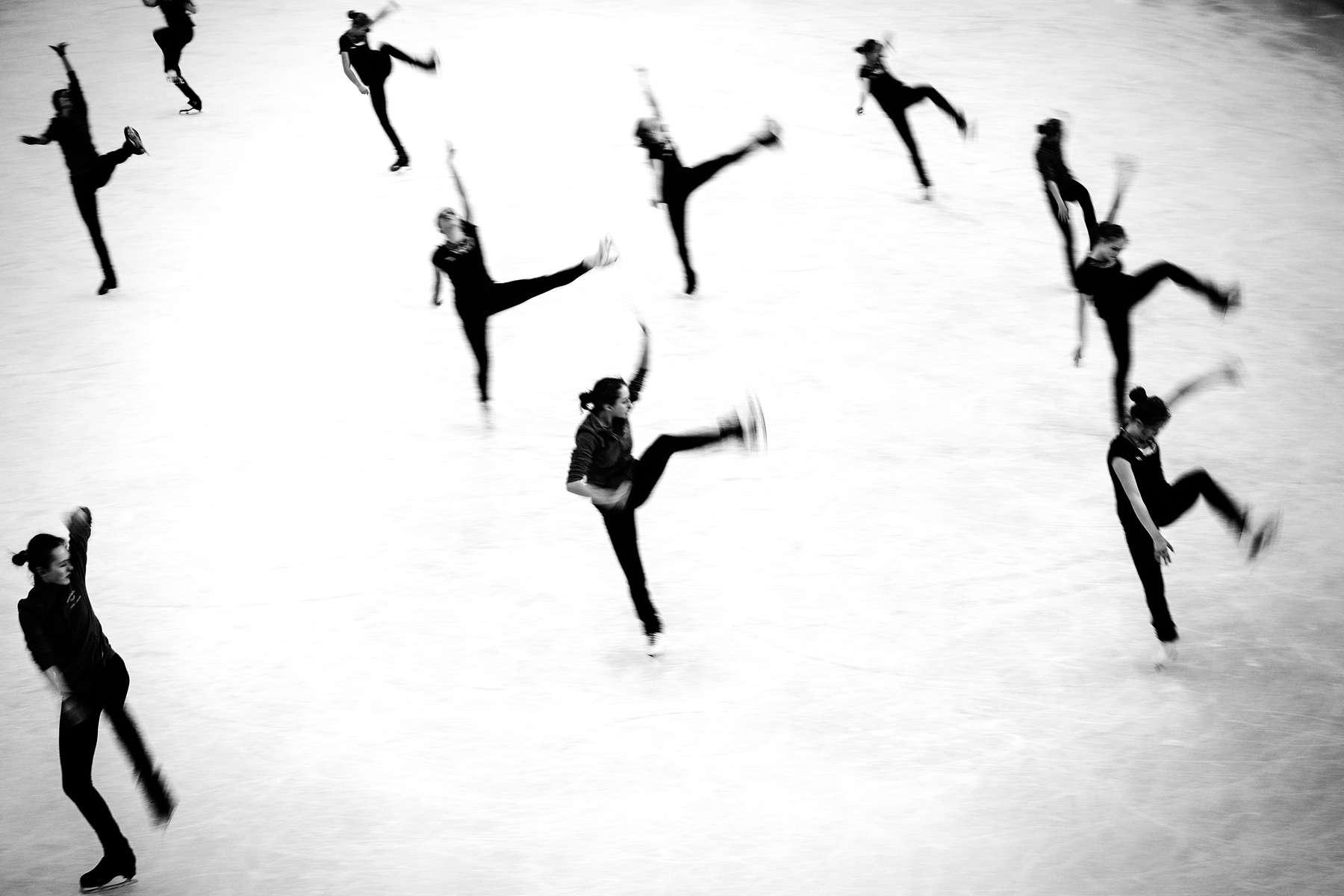 Closing Ceremony Figure Skating, Training,