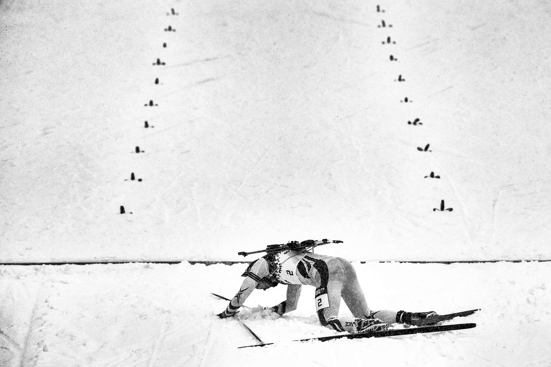 Men's Biathalon Sprint, Second Place.