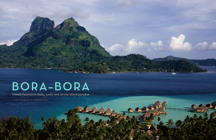 Bora Bora for Marin Magazine.