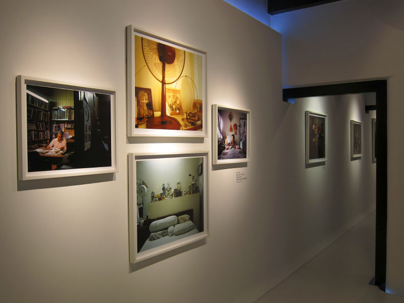 Installation view of solo exhibition Discordant Symmetries at NUS Museum's Baba House. Photography is in the gallery on the third floor. Sound installations found in the first, second and third floors. Exhibition runs from September 2010 - March 2011.