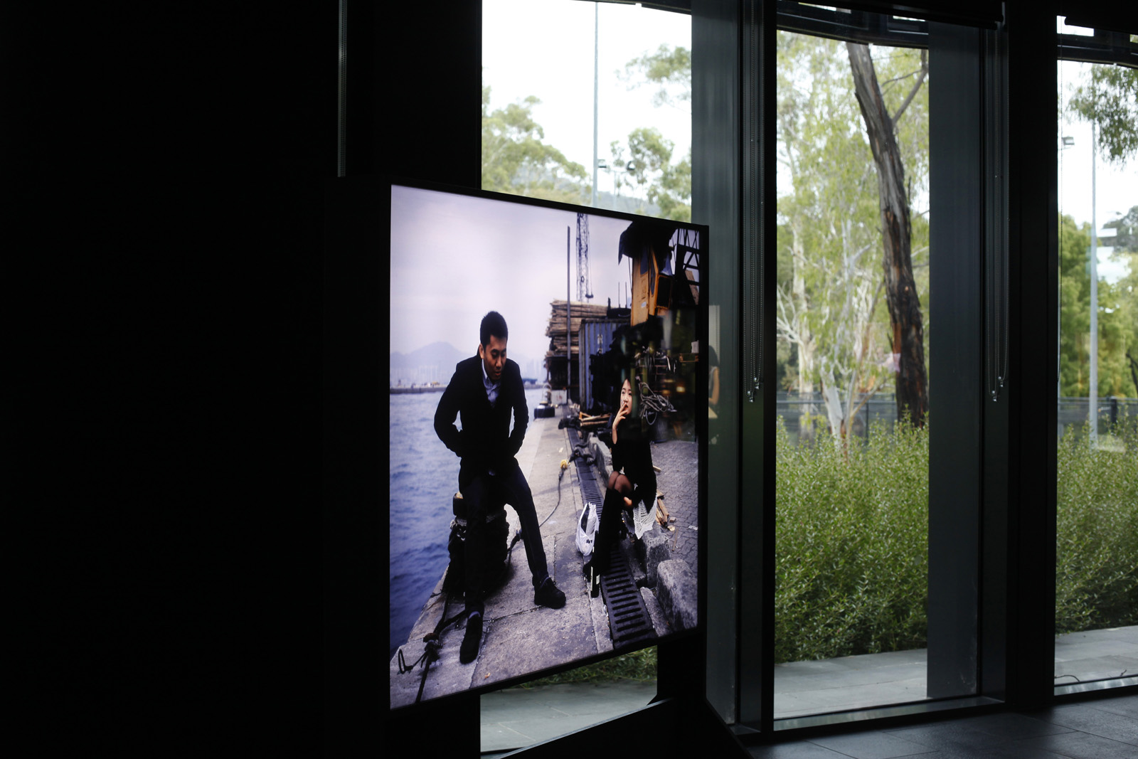 Installation view of solo exhibition at the Australian National University CIW Gallery in Australia. Exhibition runs from March 31 to July 15 2016.