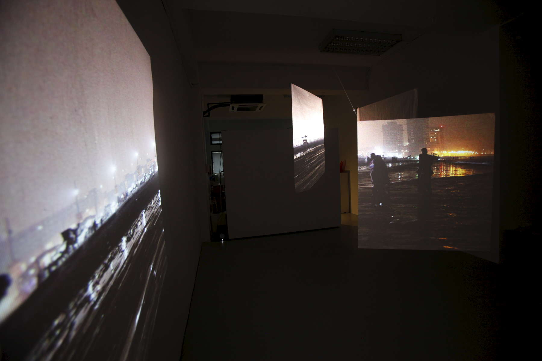 Installation view of work at Peninsular, Singapore