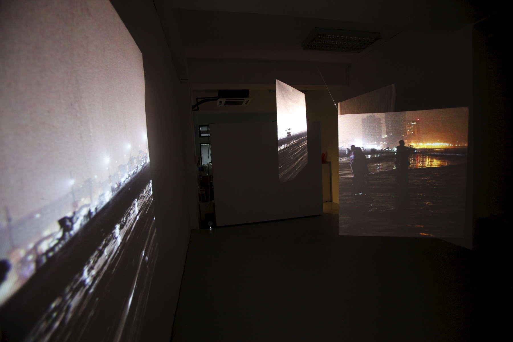 Installation view of work at Peninsular, Singapore
