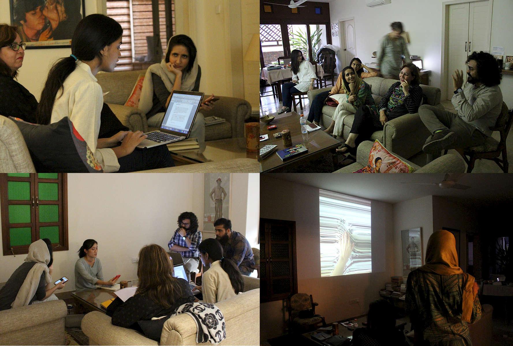 Feb-Mar: Initiated a 4 week workshop with fellow artists in Karachi - Conversation in Image-Making at Vasl, and a photography workshop for school children with the Orangi Pilot Project, Karachi.Conversation in image-making includes artists Samina Islam, Feroza Gulzar, Mujtaba Asif, Myra Javaid, Zoral Khurram, Madiha Aijaz.