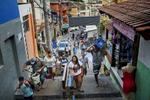 Favela Santa Marta.