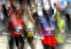Runners compete in the 2007 New York City Marathon.