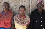 Three generations of Samburu women
